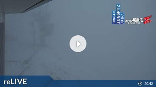 Webcam Ehrwald - Tiroler Zugspitzbahn Bergstation - 2.962m