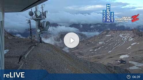 Livecam für Tiroler Zugspitzbahn