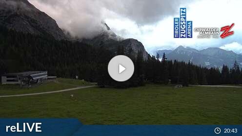 Livecam für Ehrwald Wettersteinbahnen
