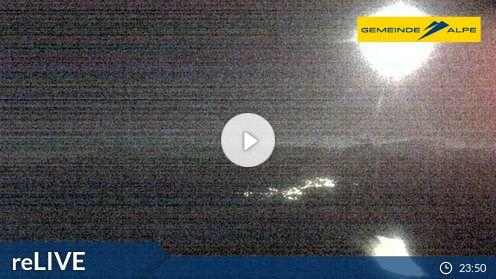 Gemeindealpe - aktuální pohled z webkamery