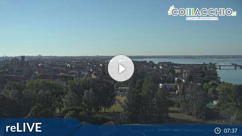 Webcam Città Comacchio (Ferrara)