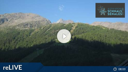 Schnalstal Valley - Maso Corto - View to the Lazaun Cable Car