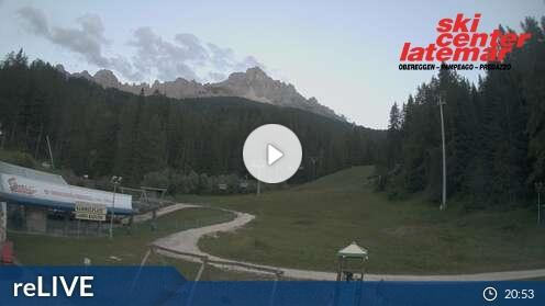 Webcam Obereggen - Oberholz Talstation