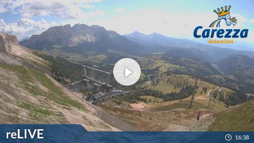Webcam König Laurin Bergstation Carezza