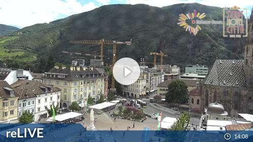 Webcam Stadt Hotel Città Bozen