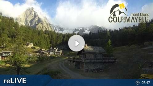 Webcam Courmayeur