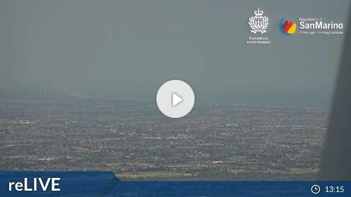 Webcam Funivia Stazione Monte Città di San Marino
