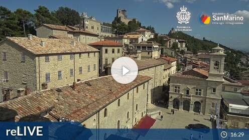 Webcam Palazzo Pubblico Città di San Marino