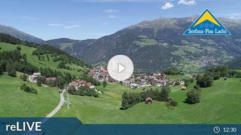 Webcam Fiss - FlyingCam - 1480 m