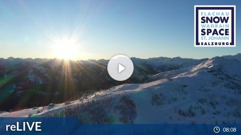 Salzburger Sportwelt - aktuální pohled z webkamery