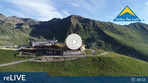 Webcam Serfaus - FlyingCam - 1445 m