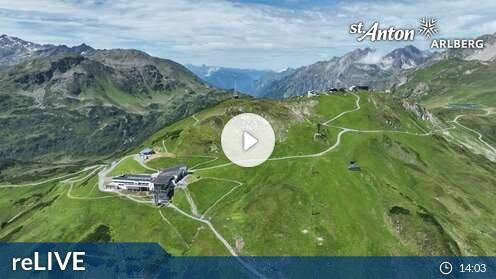 Webcam St. Anton am Arlberg - Flying Cam Galzig