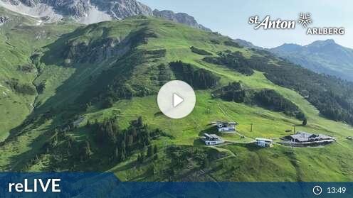 Webcam St. Anton am Arlberg - Flying Cam Gampen