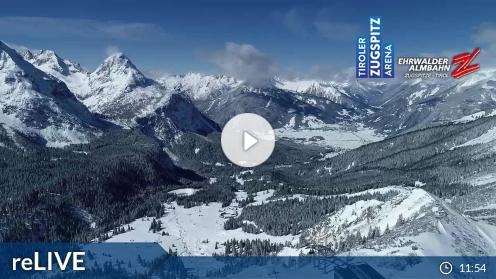 Ehrwald - Ehrwalder Alm - FlyingCam anzeigen
